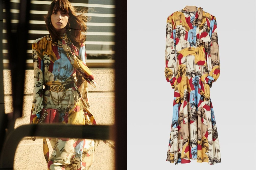 Zara-Printed-dress-HKD-999