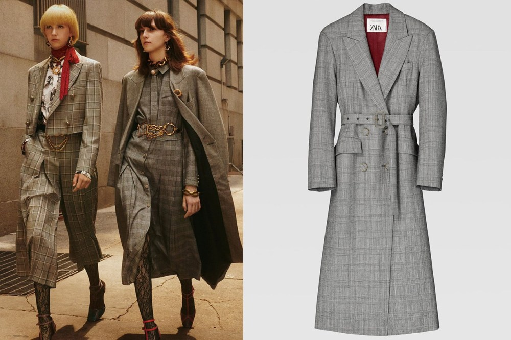 Zara-checked-coat-HKD-1499