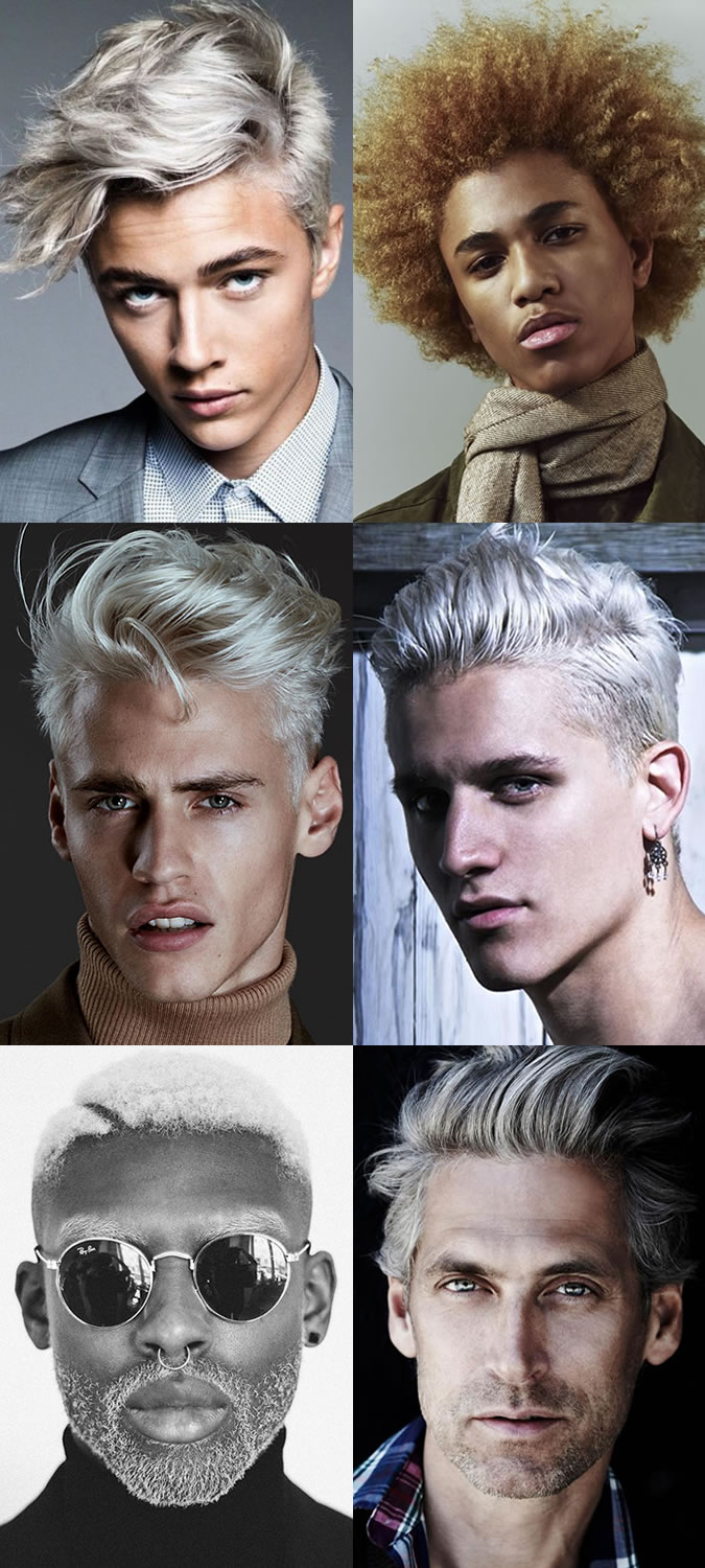 Men's Dyed Hairstyles