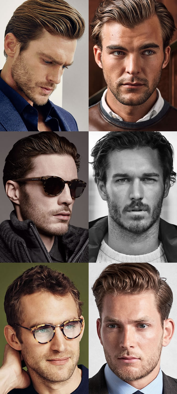 Men's Short Beards & Stubble