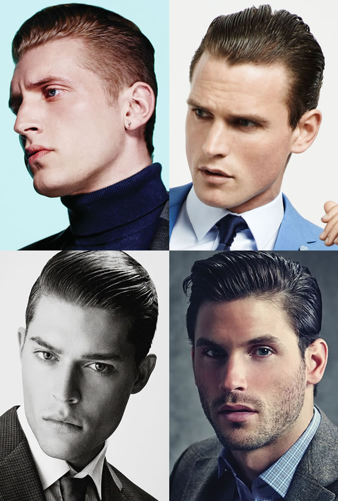 Men's Slick Back Hairstyles