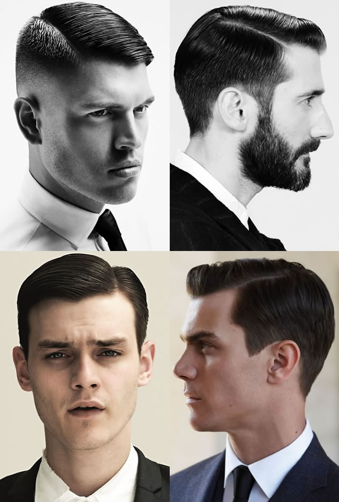 Men's Side Parting Hairstyles
