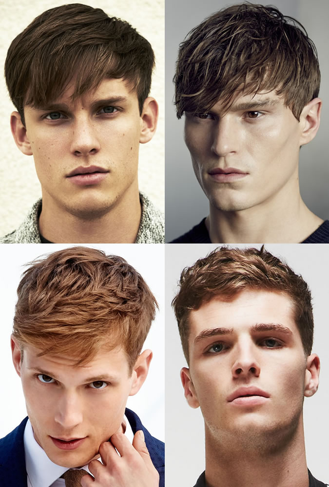 Textured Hairstyles For Men With Fringe