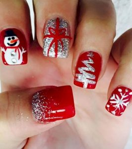 christmas nails acrylic, christmas nails acrylics, christmas acrylic nails, christmas acrylic nails design, cute christmas acrylic nails, christmas acrylic nail ideas, christmas themed acrylic nails, christmas acrylic nails short, red nails, snowman, white christmas tree