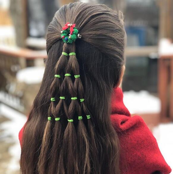 christmas hairstyle,hairstyle for christmas party, hairstyle for a christmas party,hair for christmas party, hair do for christmas party, cute hairstyles for christmas party, hair style for christmas party, hairstyles for office christmas party,