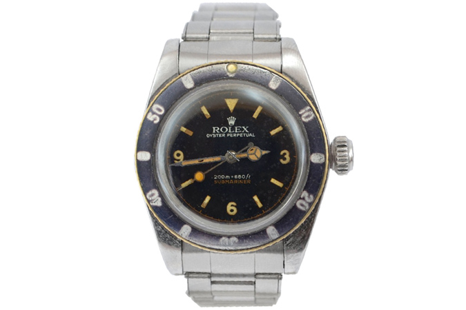 Rolex Submariner 6538 Coroncione James Bond Explorer dial