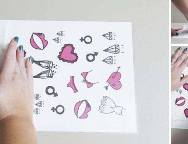 DIY tattoo stick-on tattoo tattoo drawings drawings tattoo tattoo drawings ideas homemade tattoo tattoo sketch sketches tattoo sketches tattoo sketches tattoo