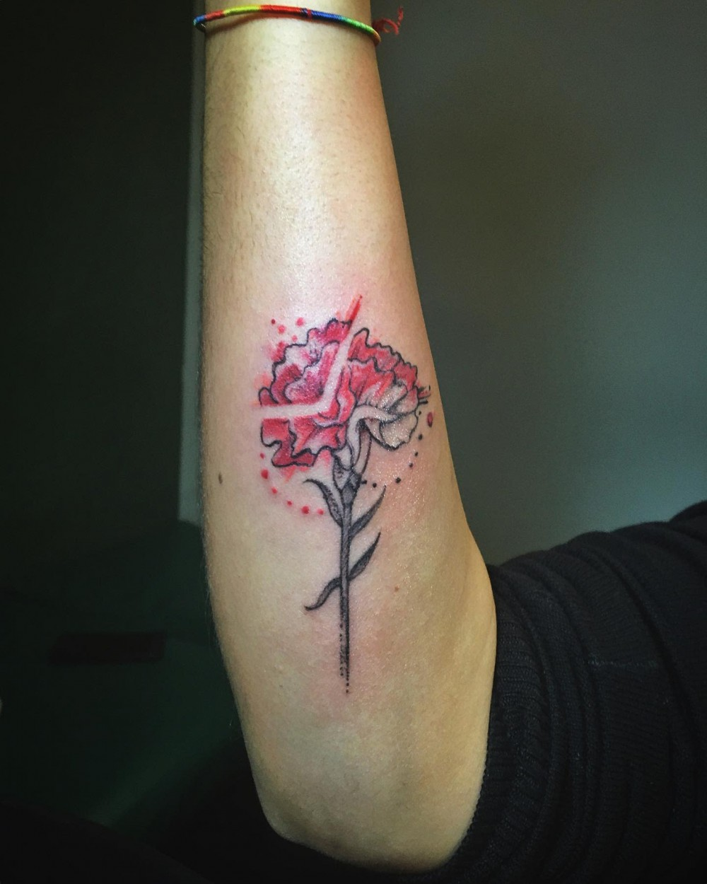 """Simple Small Carnation Floral Designs: 27+ January Birth Month Flower Tattoo Designs birth flower tattoo designs birth month flower birth flower tattoos january tattoos sign tattoo according to date of birth birthday month tattoos carnation tattoo meaning carnation tattoo with name carnation tattoo black and grey carnation tattoo simple carnation tattoo small carnation tattoo minimalist"""