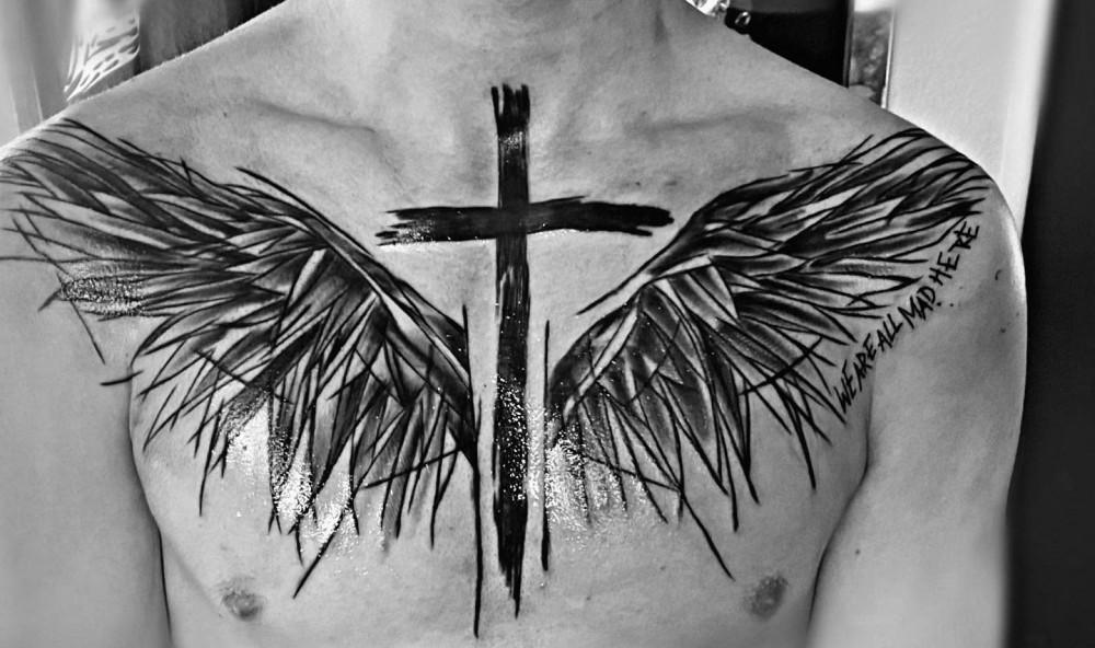 sketch-cross-black-angel-wing-tattoo-missjaxxs_and_rockabellatattoo