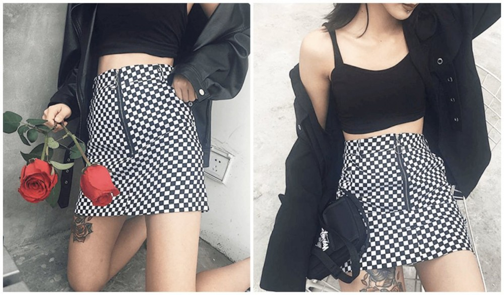 Checkered Grid Outfits Compilation Checkered Grid Front Zipper Skirt itGirl Shop Blog, eGirls Checkered Outfits Guide (Hoodie, Jackets, Shirt, Top, Pants, Skirts, Accessories), checkered clothes women, checkered shorts outfit men's, checkered outfit set, checkered outfits, checkered outfit gta, checkered shirt outfit, checkered top, checkered pants outfit, checkered skirt outfit, eGirl outfit ideas
