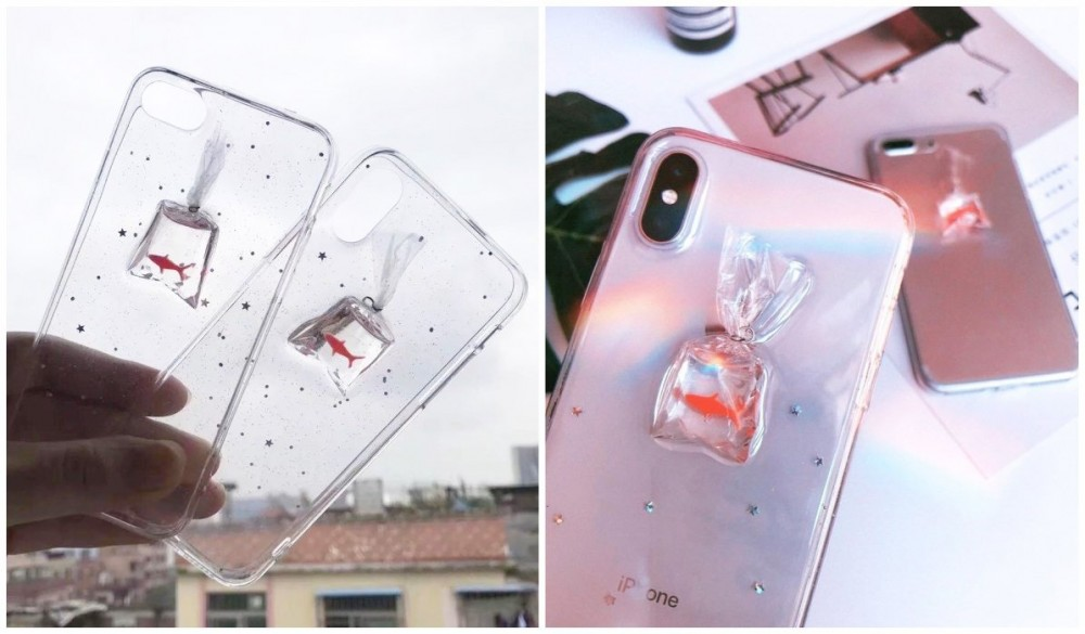 Transparent iPhone Cases Transparent Goldfish Bag iPhone Case itGirl Shop Blog, 20+ Popular Cute Clear iPhone Cases For Girly Teenage Girls cute phone cases clear phone case with design trendy phone cases clear case aesthetic phone cases teenage girl phone cases vsco phone cases PRETTY phone cases girly phone cases aesthetic phone cases cool phone cases girly phone cases e girl phone cases