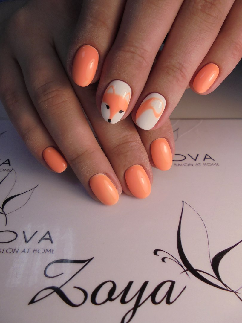 Bright nails ideas photo