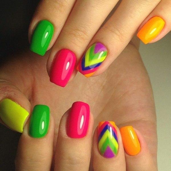 """""""bright gel nails , bright pink gel nails, bright summer gel nails, bright red gel nails, bright orange gel nails, bright blue gel nails, bright yellow gel nails, bright green gel nails, bright colour gel nail, bright nail colors, bright nail colors 2020, best gel nail polish, bright color nails on dark skin, neon orange nail polish, neon nails, neon nail polish,"""""""