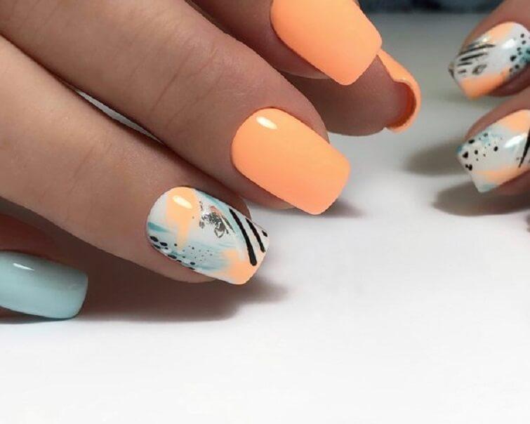 """""""orange nail polish, orange nails acrylic, orange nails designs, orange nails coffin, orange nails short, dark orange nails, light orange nails,, orange nails on dark skin, orange fruit nail art, orange and white acrylic nails, blue and orange ombre nails, orange short nails, orange nails on brown skin, orange red nails, orange and blue nails, peach nails, black and white nails, summer nails, green nails, yellow nails, best orange nail polish, tangerine nail polish, neon orange nail polish, red orange nail polish, pastel orange nails,"""""""