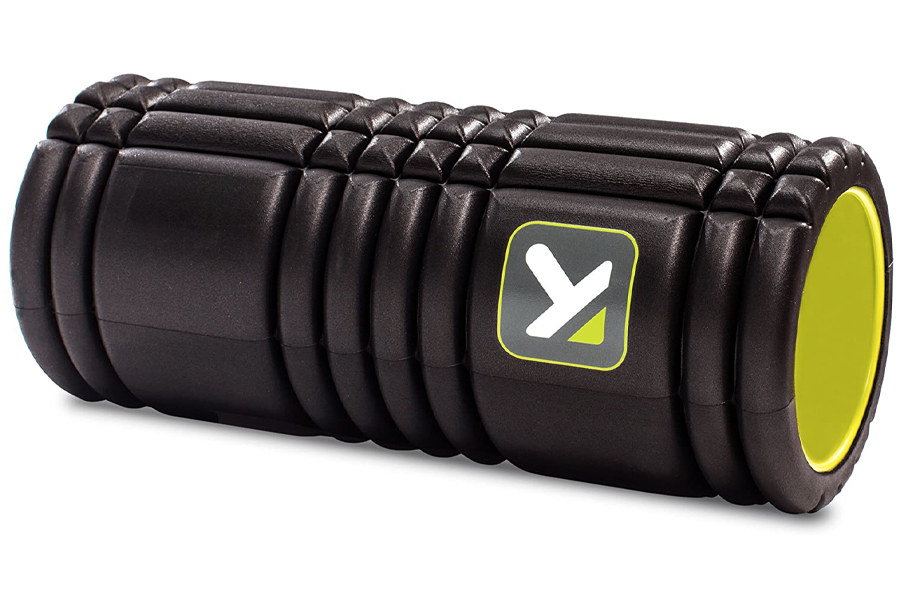 TriggerPoint GRID Foam Roller, workout routine at home, home workout, home gym exercises without equipment, home gym exercises no equipment, at home workouts for beginners, at home workout plan without equipment, home exercises for men, bodyweight exercises