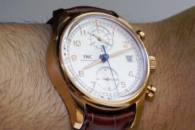 iwc digital watch