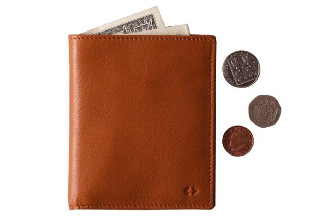 harber london leather bifold sleek wallet