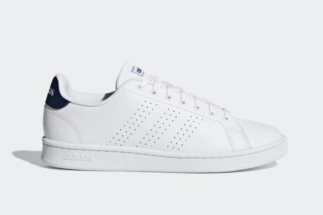 Adidas Advantage Shoes, best white sneakers 2020, men's white sneakers cheap, white leather sneakers, best white sneakers men's 2020, adidas white sneakers men's, minimalist white sneakers, white sneakers trend, white sneakers men's fashion