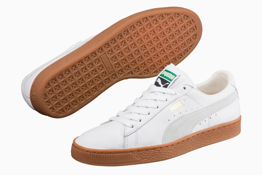 Puma Basket Deluxe Sneaker, best white sneakers 2020, men's white sneakers cheap, white leather sneakers, best white sneakers men's 2020, adidas white sneakers men's, minimalist white sneakers, white sneakers trend, white sneakers men's fashion