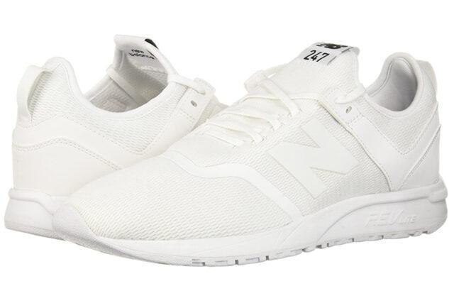 New Balance 247d1 Sneakers, best white sneakers 2020, men's white sneakers cheap, white leather sneakers, best white sneakers men's 2020, adidas white sneakers men's, minimalist white sneakers, white sneakers trend, white sneakers men's fashion