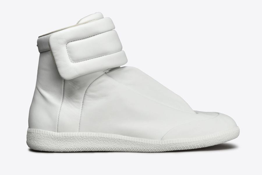 Maison Margiela Future High Top White, best white sneakers 2020, men's white sneakers cheap, white leather sneakers, best white sneakers men's 2020, adidas white sneakers men's, minimalist white sneakers, white sneakers trend, white sneakers men's fashion