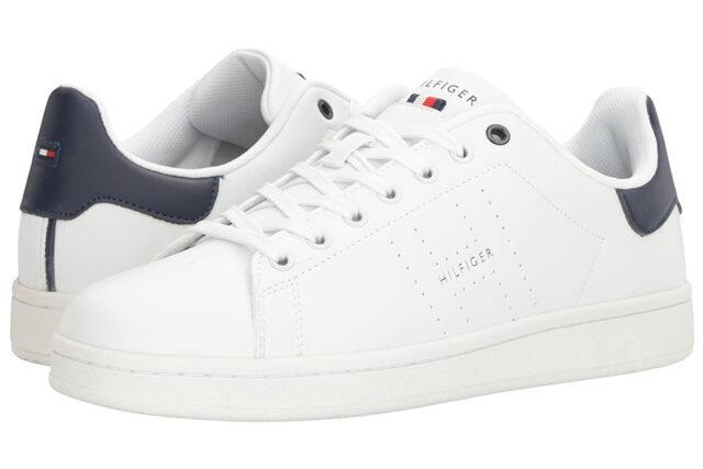 tomy Hilfiger Liston White Sneaker, best white sneakers 2020, men's white sneakers cheap, white leather sneakers, best white sneakers men's 2020, adidas white sneakers men's, minimalist white sneakers, white sneakers trend, white sneakers men's fashion