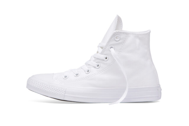 Chuck Taylor All Star Classic Colour High Top White, best white sneakers 2020, men's white sneakers cheap, white leather sneakers, best white sneakers men's 2020, adidas white sneakers men's, minimalist white sneakers, white sneakers trend, white sneakers men's fashion
