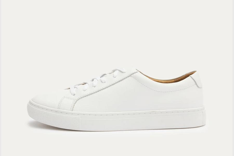 New Republic Kurt Leather Sneaker, best white sneakers 2020, men's white sneakers cheap, white leather sneakers, best white sneakers men's 2020, adidas white sneakers men's, minimalist white sneakers, white sneakers trend, white sneakers men's fashion