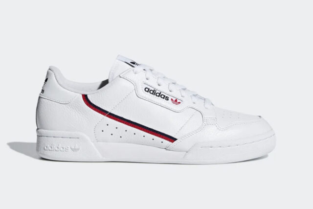 Adidas Continental 80 White Sneakers, best white sneakers 2020, men's white sneakers cheap, white leather sneakers, best white sneakers men's 2020, adidas white sneakers men's, minimalist white sneakers, white sneakers trend, white sneakers men's fashion