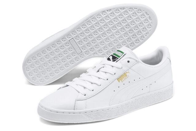 Puma Heritage Basket Classic White sneakers, best white sneakers 2020, men's white sneakers cheap, white leather sneakers, best white sneakers men's 2020, adidas white sneakers men's, minimalist white sneakers, white sneakers trend, white sneakers men's fashion