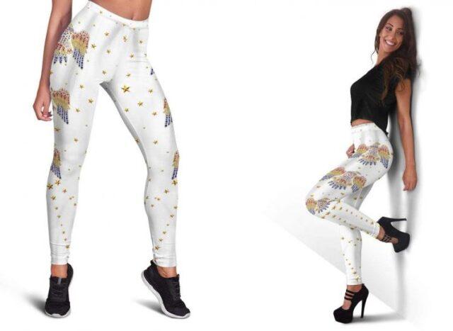 Elvis Print Leggings - Elvis design printed clothes