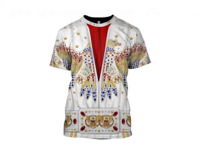Elvis Print t-shirt - Elvis design printed clothes