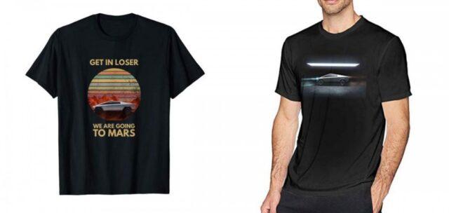 Tesla Cybertruck t-shirt