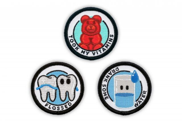Merit Badges For Adults - Funny Adult accomplishment iron-on patches