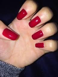 """elegant & popular mahogany red nail art for autumn burgundy mahogany red burgundy maroon mahogany wine red nail design nail art elegant popular classy elegant"""
