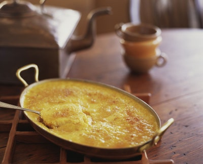Corn pudding may be made with lovebut with 300 calories and 12 grams of fat per cup its also made with a lot of carbs...
