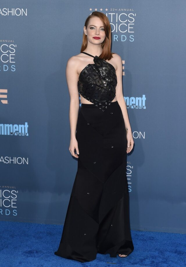 Image may contain Emma Stone Human Person Clothing Apparel and Fashion