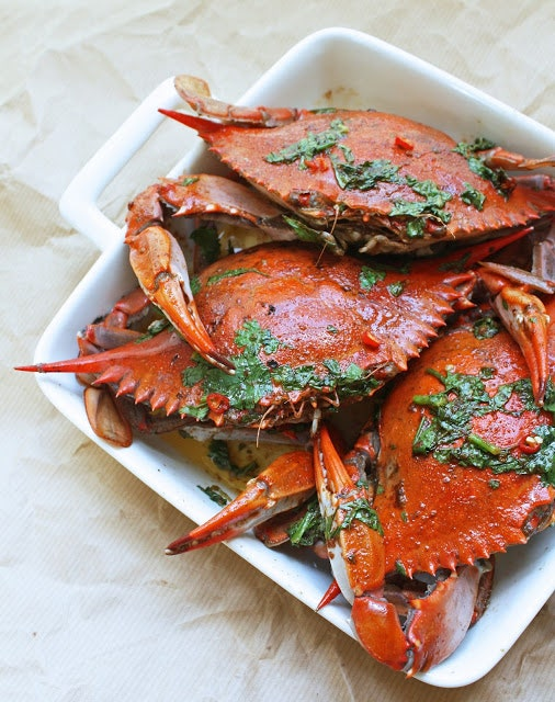 Image may contain Seafood Food Animal Sea Life Crab and Lobster