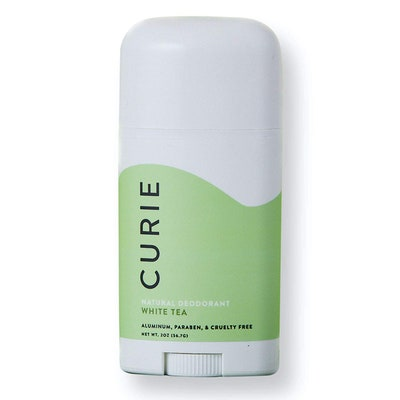 Curie Natural Deodorant in White Tea