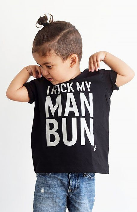 Man Bun Boy