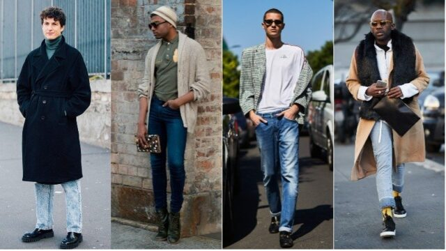 Blue Jeans with Black Shoes, black shoes with blue jeans, what trainers to wear with blue jeans, best shoes to wear with jeans men's, light blue jeans brown shoes, how to wear sneakers with jeans men's, grey shoes with blue jeans
