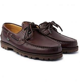 Arpenteur + Paraboot Malo Leather Boat Shoes12, black shoes with blue jeans, what trainers to wear with blue jeans, best shoes to wear with jeans men's, light blue jeans brown shoes, how to wear sneakers with jeans men's, grey shoes with blue jeans