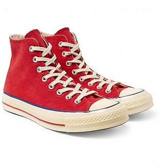 Converse 1970s Chuck Taylor All Star Canvas High Top Sneakers20, black shoes with blue jeans, what trainers to wear with blue jeans, best shoes to wear with jeans men's, light blue jeans brown shoes, how to wear sneakers with jeans men's, grey shoes with blue jeans