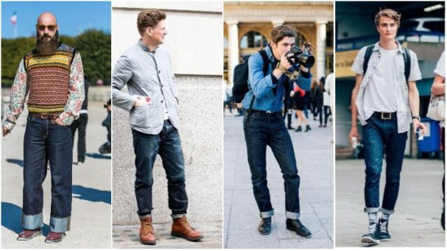 What Shoes To Wear With Raw Denim, black shoes with blue jeans, what trainers to wear with blue jeans, best shoes to wear with jeans men's, light blue jeans brown shoes, how to wear sneakers with jeans men's, grey shoes with blue jeans