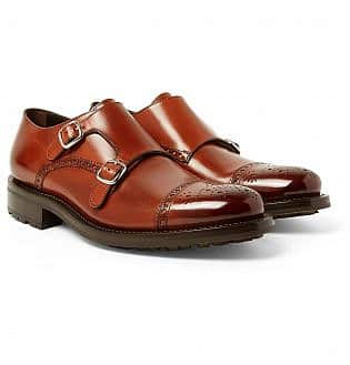 O'keeffe Bristol Burnished Leather Monk Strap Brogues26, black shoes with blue jeans, what trainers to wear with blue jeans, best shoes to wear with jeans men's, light blue jeans brown shoes, how to wear sneakers with jeans men's, grey shoes with blue jeans