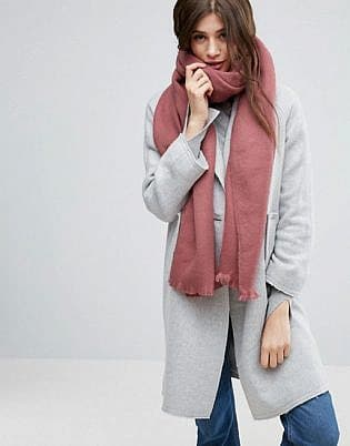 Asos Supersoft Long Woven Scarf
