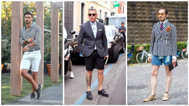 Monk Strap Shoes And Shorts