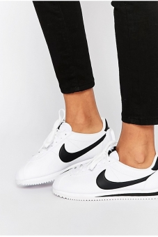 Nike Leather White Cortez Sneakers