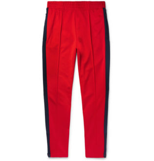 + Martine Rose Slim Fit Tapered Striped Tech Jersey Track Pants