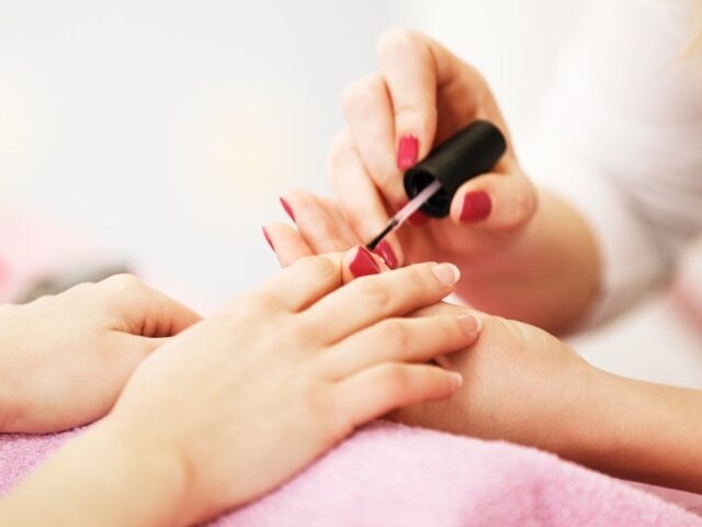 Bring your own polish to the salon to make your manicure last longer
